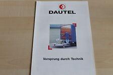 150140) Dautel Ladebordwand Prospekt 03/1998