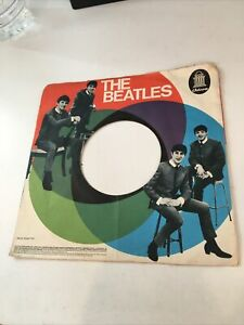 The Beatles - Rare German Odeon Record Sleeve 7""