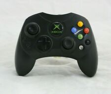 Original Xbox Controller S Black Damaged Stick OEM Tested and Working