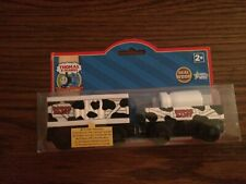 Thomas Sodor Dairy Cars for the Thomas Wooden Railway System New in Package!