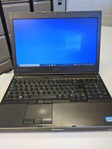 """Dell Precision M4600 15.6"""" Laptop 2nd Gen Core i7 8GB RAM 250GB Samsung EVO SSD"""