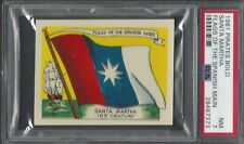PSA 7 - 1961 Fleer Pirates Bold - Flags of the Spanish Main - Santa Martha