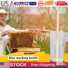 Bee Queen Marking Cage Marker Plastic Bottle For Beekeeper Beekeeping Tools