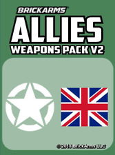 BRICKARMS Allies Weapons Pack V2 compatible with Lego®
