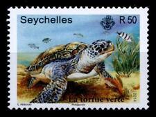 Schildkröten. Suppenschildkröte. 1W. Seychellen 2014