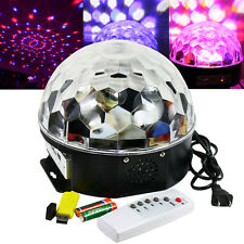 18W RGB LED MP3 DJ Club Pub Disco Party Crystal Magic Ball Stage Effect Light
