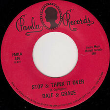 """DALE & GRACE - Stop & Think It Over 7"""" 45*"""