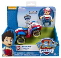 PAW Patrol Ryder's Rescue ATV Pup & Vehicle Toy Action Kids Figures Playing Gift
