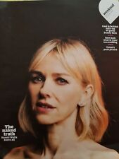 The Guardian Weekend Magazine 15.07.17, Naomi Watts Cover/Feature/Interview NEW!