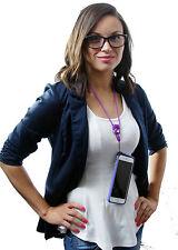 Bumper Case for iPhone 6Plus, 6s Plus, with Detachable Neck Strap - Blue