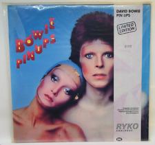 DAVID BOWIE ~ Pin Ups ~ 1990 Ltd CLEAR VINYL LP ~ Ryko ~ SEALED / Low # 2202