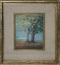 JAMES WOODWORTH PORTER-OH Impressionist-Original Oil-Great Lakes-Art Deco Frame