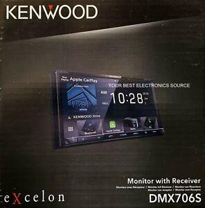 "NEW Kenwood DMX706S 6.95"", Digital Media Receiver Apple CarPlay, Android Auto"