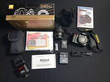 Nikon D40 Digital SLR Camera (Kit w/ AF-S DX 18-55mm Lens) SB600 Nikon Flash