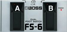 FS-6 Boss Pedal Dual Foot Switch Fender Picks FROM JAPAN NEW Roland