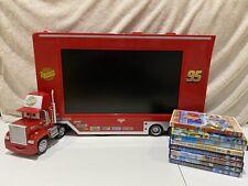"Disney Pixar Cars Mack Truck Lightning McQueen 19"" LCD TV Integrated DVD Player"