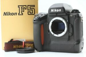 【NEAR MINT in BOX】 Nikon F5 35mm Body Only Film Camera w/ Strap From JAPAN
