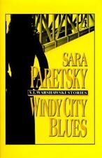 Windy City Blues Sara Paretsky hardcover dj large print
