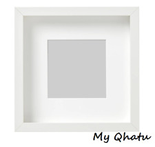 "Ikea Ribba 9""x 9"" Picture Photo Frame White New"
