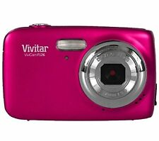 Vivitar VF126 ViviCam F126 Digital Camera 4x Zoom - Pink - New - Retail Package