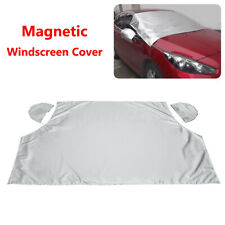 Magnetic Car Windshield Snow Cover Ice Frost Sunshade Windscreen Protector Guard