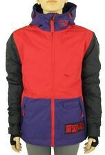 Skijacken mit Kapuze aus Polyester für Jungen