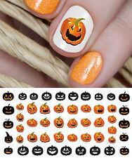 Halloween Pumpkins Nail Art Decals