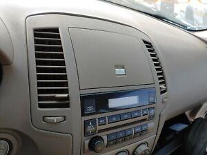 Nissan Altima 2005-2006 dash vent cubby storage dash trim radio bezel TAN beige