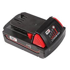 18V 2000mAh Power Tool Battery for Milwaukee M18 XC 48-11-1820 M18B2 M18B4 M18BX