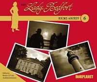 LADY BEDFORT - DAS LADY BEDFORT KRIMI-ARCHIV 6++++  4 CD NEW