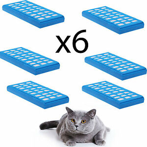 6 x 4YourHome Water Purification Filter Cartridges for Cat Mate Fountains 335