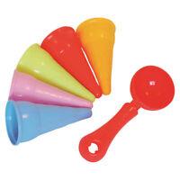 Sandspielzeug Adriatic Sandformen Eis Eiswaffel für draußen NEU+OVP!