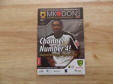 MK Dons v Norwich League1  14/09/09