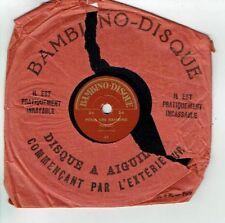 78T 15 cm Pygmo Disque POUR LES BAMBINS -1 POULE SUR MUR Chanté BAMBINO 24 RARE