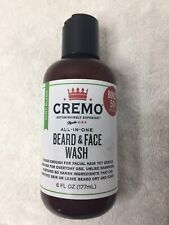 Cremo All In One Beard and Face Wash Mint Blend 6oz. Mens Soap New Sealed