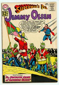 JERRY WEIST ESTATE: SUPERMAN'S PAL JIMMY OLSEN #60 (DC 1962) VF condition! NR