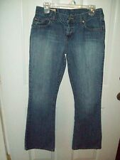 AMBERCROMBIE & FITCH WOMEN'S SIZE 8R LIGHT WASH LOW RISE JEANS
