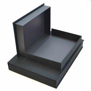 Seawhite Display Box A3 50mm Black Deep Storage Paper Archival Acid Free