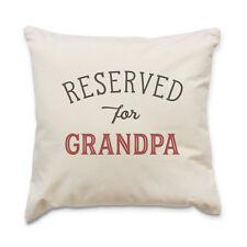 NEUF - reserved pour GRAND-PAPA - COUSSIN qualité Housse - Cadeau Anniversaire