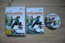 Wii-Shaun White skateboarding - (OVP, con instrucciones)