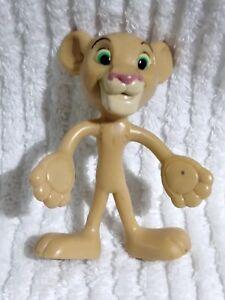 Lion King Nala RARE TOY Bendable Poseable Figurine Disney Kids Rubber Figure