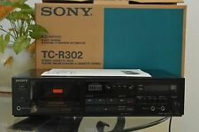 Sony TC-R302 Vintage Auto Reverse Hi-Fi Stereo Tape Cassette Deck Player JAPAN