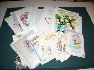 33 VINTAGE GREETING CARDS [1950'S] WEDDING
