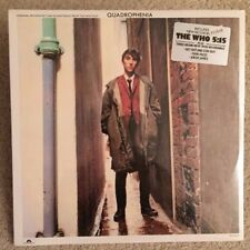 """Factory Sealed -The WHO-""""QUADROPHENIA""""-1979 SDTK-MINT- Hype Stk-3 New Songs"""