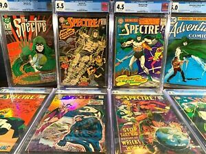 First Appearance THE SPECTRE Key Lot SHOWCASE 60 1966 1967 1st 1 2 3 4 5 CGC set