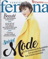 VERSION FEMINA MAGAZINE N° 858 - SPECIAL MODE - REVUE MAG MODE PEOPLE 2018 TBE