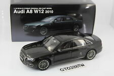 Kyosho 1:18 scale Audi A8 W12 2010 D4(Oolong Grey) 09231GR