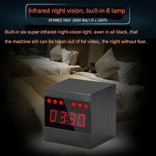 1080P HD motion detection spy camera A10 night vision IR camera mini clock DVR