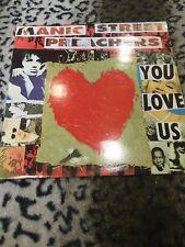 "Manic Street Preachers : You Love Us : Vinyl 12"""