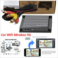 WIFI Mirabox 5G Home/Car iOS10 Android OS Miracast Screen Mirroring DLNA Airplay